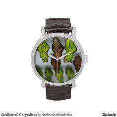 Swallowtail Chrysalises Wristwatch
