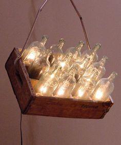 Salvage Lighting by Warren Muller