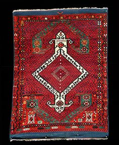 This Yayahli rug is from Anatolia and is a rare type.