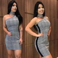 Você vai amar esses modelos de vestido xadrez