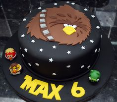 Angry Birds Star Wars Birthday Cake on Global Geek News.