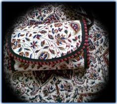 Embossing (Ghalam Kari) -Ghalamkar fabric is a type of hand-printed, patterned Iranian Fabric. The fabric is printed using patterned wooded stamps.
