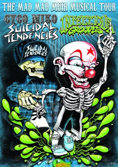 Suicidal Tendencies e Infectious Grooves