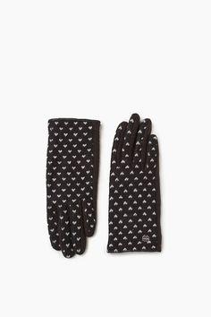 Esprit - Touchscreen Handschuhe mit Herzchen im Online Shop kaufen