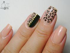 Cheetah Nail Designs, Leopard Print Nails, Black Nail Designs, Beautiful Nail Designs, Acrylic Nail Designs, Nail Art Designs, Acrylic Nails, Sexy Nails, Classy Nails
