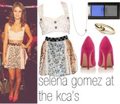 """""""♡ get the look: selena gomez at the 2012 kca's ♡"""" by michaelcliff0rd on Polyvore"""