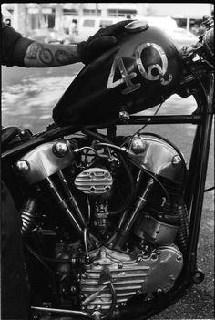 Harley-Davidson Knucklehead #motorcycle #motorbike