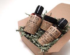 Wild Man Beard Gift Set, $30