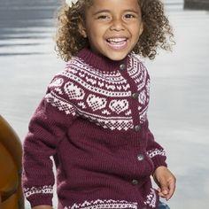 Hjerte kofte - Viking of Norway Line, Norway, Vikings, Christmas Sweaters, Children, Fair Isles, Vests, Knitting, Fashion