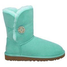 UGG Bailey Button 5803 Boots Green