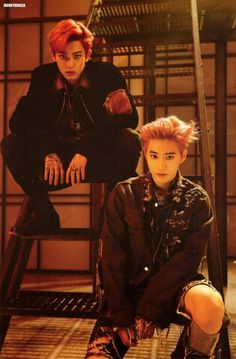 #EXO #EXO_LOTTO #CHSNYEOL #SUHO Lotto Photobook