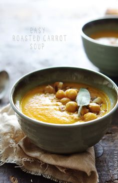 Roasted Carrot Soup from Bakers Royale