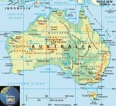 Australia is a country and continent surrounded by the Indian and Pacific oceans. Its major cities – Sydney, Brisbane, Melbourne, Perth, Adelaide – are coastal. Its capital, Canberra, is inland. The country is known for its Sydney Opera House, the Great Barrier Reef, a vast interior desert wilderness called the Outback, and unique animal species like kangaroos and duck-billed platypuses.