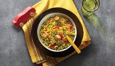 Tasty and Creative Yellow Rice Recipes! Goya Recipes Puerto Rico, Cuban Recipes, Pork Recipes, Chicken Recipes, Cooking Recipes, Skillet Recipes, Kitchen Recipes, Turkey Recipes, Goya Sazon Recipe