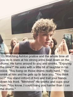 Image uploaded by ♡Kylie♡. Find images and videos about luke hemmings imagines and calum hood imagines on We Heart It - the app to get lost in what you love. Ashton Irwin Imagines, 5sos Ashton, 1d And 5sos, 5sos Imagines Luke, Michael Imagines, 5 Sos, 5 Seconds Of Summer Imagines, 5sos Preferences, 5sos Memes