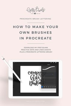 Making brushes in Procreate is super easy. It just takes some time to tweak and get everything just perfect. In this video, I'm going to be showing you how to make your own brushes in Procreate and walk you through several of the brush settings so you can start.