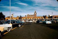 Disneyland entrance 1950s.