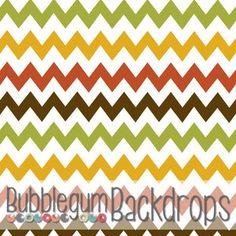 Autumn Chevron Backdrop $50.00 for 4x5