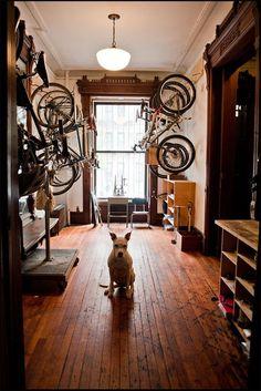 Rangement de vélos