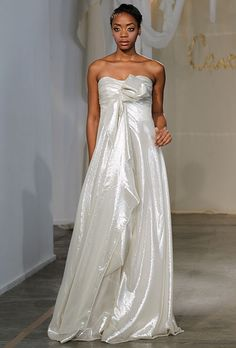 Sparkling, Glittering Wedding Gowns for your Vow Renewal. #secondwedding #weddingdresses