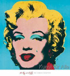 Andy Warhol - Shot Cyan Marilyn