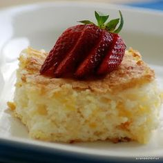Scrambled Henfruit: Heavenly Pineapple Cake