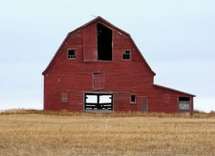 LOVE This!  Imagine all the junk I could store in this barn!