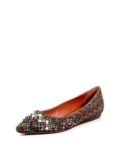 Missoni Shoes Rhinestone Flat