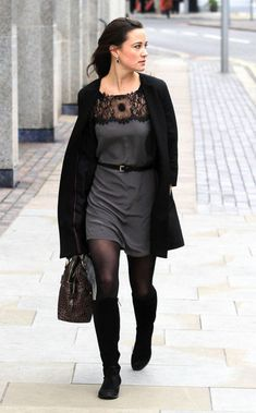 Pippa Middleton - Pippa Middleton's Cool Black Boots
