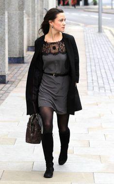 Pippa Middleton - Pippa Middleton's Cool Black Boots