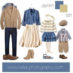 More than any other question, my clients always ask me what they should wear to their family session. Coordinating your family outfits can be a daunting task, but it doesn't have to be! I've put together some sample outfits below to help inspire you to create your own ensemble. Here are some tips to take away from ...