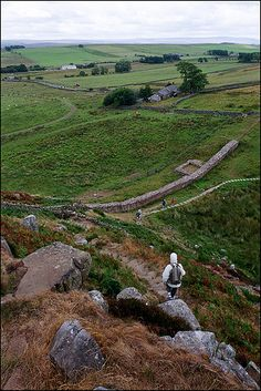 Hadrian's Wall. I'm doing a coast to Coast, roughly along the wall, this Summer Holidays. We'll be camping about halfway.