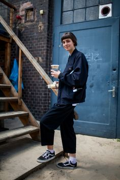 Street style at the Bright and Seek trade shows in Berlin.                                                                                                                                                                                 More