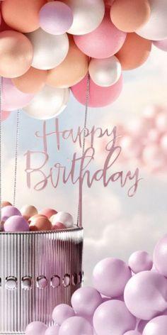 Happy Birthday Floral, Happy Birthday Art, Happy Birthday Template, Happy Birthday Posters, Happy Birthday Wallpaper, Happy Birthday Wishes Messages, Happy Birthday Greetings Friends, Birthday Wishes And Images, Happy Birthday Pictures