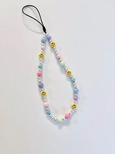 Bead Jewellery, Beaded Jewelry, Jewelery, Beaded Bracelets, 90s Accessories, Pulseras Kandi, Handmade Wire Jewelry, Iphone Design, Diy Necklace