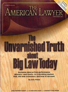 November 2014 edition of The American Lawyer Magazine, featuring Immigration Lawyer Christopher Helt, Esq.