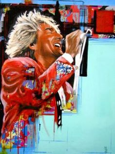 Check out Rod Stewart @ Iomoio Rod Stewart Songs, Rod Steward, Day And Nite, Funny Caricatures, Rock Songs, Music Like, Blues Rock, Cool Artwork, Amazing Artwork
