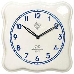 Nástěnné keramické hodiny JVD quartz TS2615.2 francouzského vzhledu Quartz, Clock, Retro, Wall, Trends, Design, Watch, Clocks