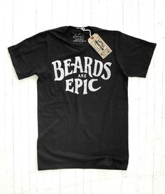 Little Mountain Print Shoppe — Beards Are Epic in Lettering/Typography