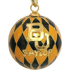 Product: Baylor University Clois Harlequin Ornament