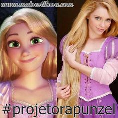 Projeto Rapunzel O projeto rapunzel foi inspirado na Rapunzel, aquela famosa personagem dos desenhos da Walt Disney com seus...