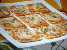 foto da receitas - Pizza de biscoito de Água e Sal Ninfa
