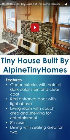 Tiny House Built By AlpineTinyHomes | Tiny Quality Homes