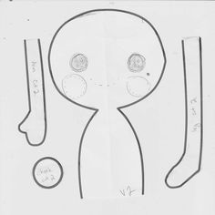 Lalaloopsy style rag doll pattern by ~HarleyQuinne on deviantART