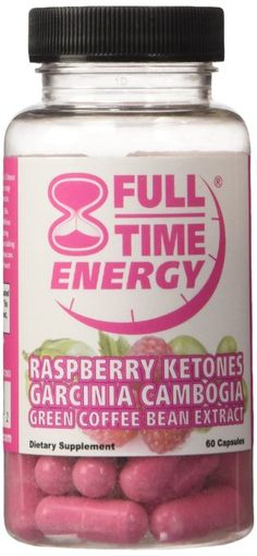 Full Time Energy Pill with Raspberry Ketones Garcinia Cambogia Green Coffee Bean Extract $39.97   Full-Time Energy with Raspberry Ketones, Garcinia Cambogia and Green Coffee Bean Extract best combination works quickly and safelyAll Three Top Rated Amazing Dr Recommended Prime Weight Loss Ingredients in 1 Best Seller Super Combo Formula!!!! Full Time Energy Products are only Made In USA - 60 Capsules in 5 oz bottlePure Raspberry Ketones - Revolutionary New Fat Buster The Most Exciting Weight…
