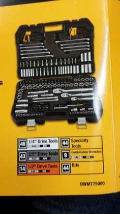 Dewalt 200 Piece Mechanics Tool Set