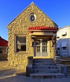 Interesting Stone Tiny House