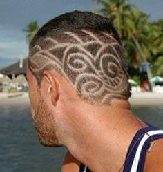 Personalize Your Hair  Shaved hair patterns are great alternative styles.