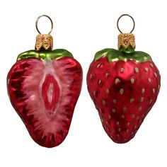 Shop Wayfair for Pinnacle Peak Trading Co Strawberry Polish Mouth Blown Glass Christmas Ornament - Great Deals on all Decor products with the best selection to choose from!