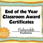 This is a set of fun, printable award certificates for the end of the school year. They are a great way to recognize students for their hard work. ...